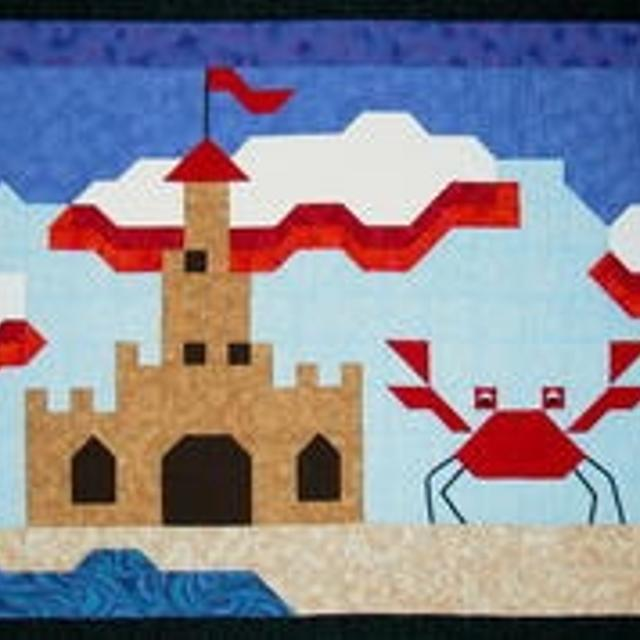 Baby Quilt Pattern Happy Crab S Castle