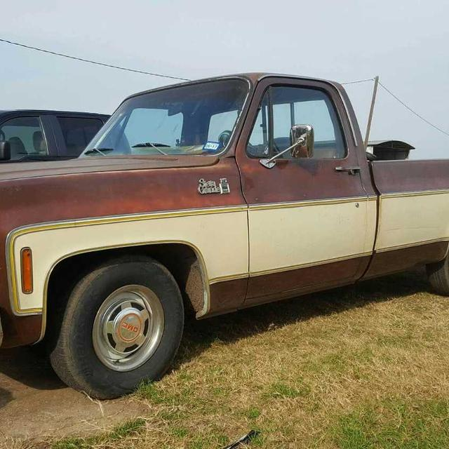 Best 1977 Gmc Sierra Grande Long Bed With 350 Chevy Small