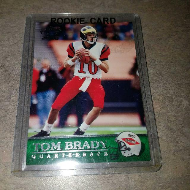 Tom Bradys Rookie Card