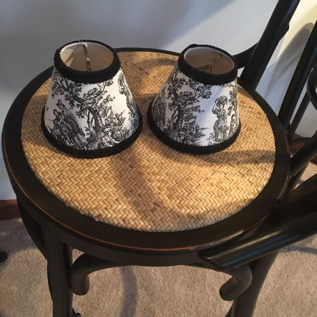French Country Buffet Lamp Shades