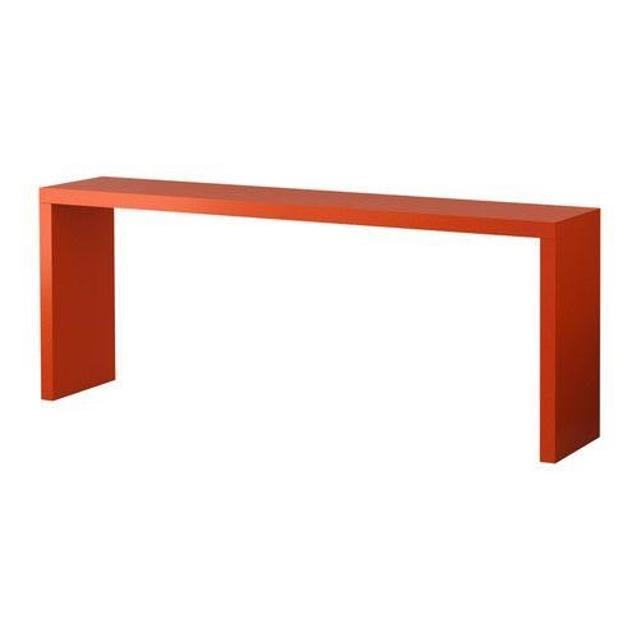 Find More Ikea Malm Occasional Table Orange For Sale At Up To 90 Off