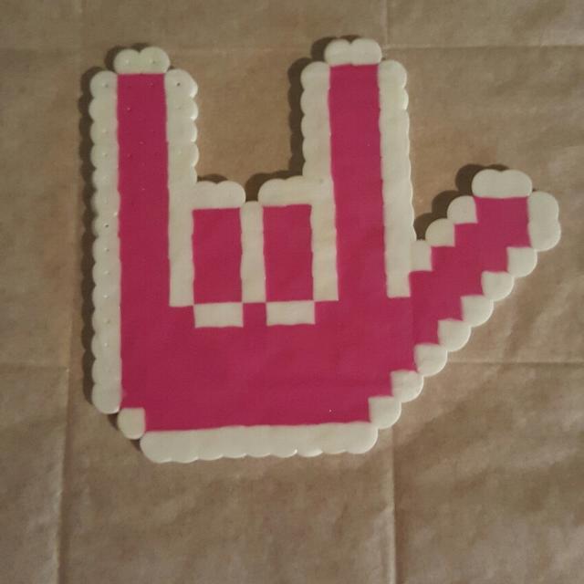 Best I Love You Sign Language Perler Bead For Sale In Dekalb