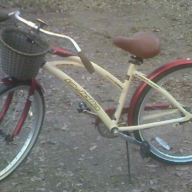 Vintage Women S Beach Cruiser Bike 26 Red Tan Kent