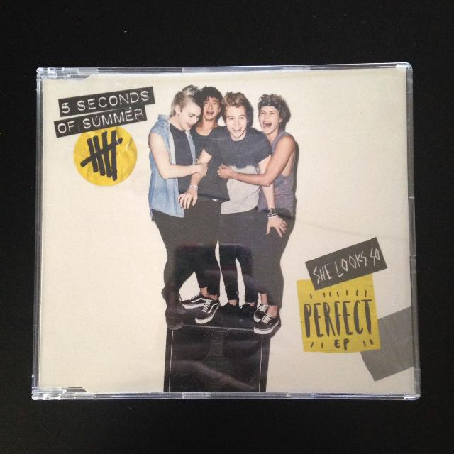 Find More 5 Seconds Of Summer She Looks So Perfect Ep Cd Like New Condition For Sale At Up To 90 Off