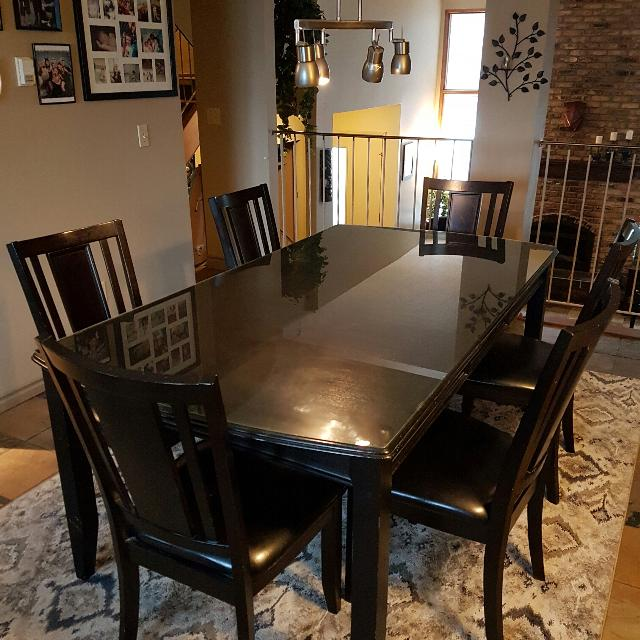 Sale Ashley Furniture: Find More Ashley Furniture Carlyle Dining Set For Sale At