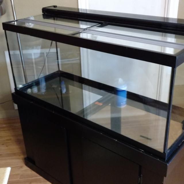 Aquarium Marineland 75 Gallon Majesty Ensemble With Stand Top Led Hood