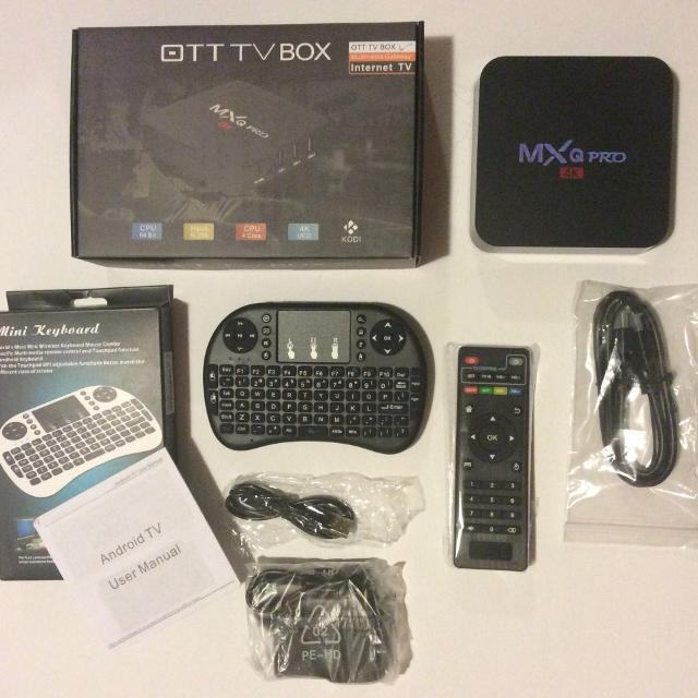 4k PRO ANDROID TV BOX ( WIRELESS KEYBOARD ) LIVE SHOWS