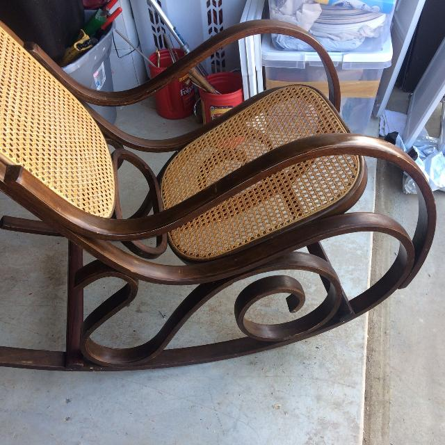 Antique cane back and bottom rocking chair - Best Antique Cane Back And Bottom Rocking Chair For Sale In Baton