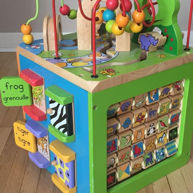 Parents Busy Zoo Activity Cube