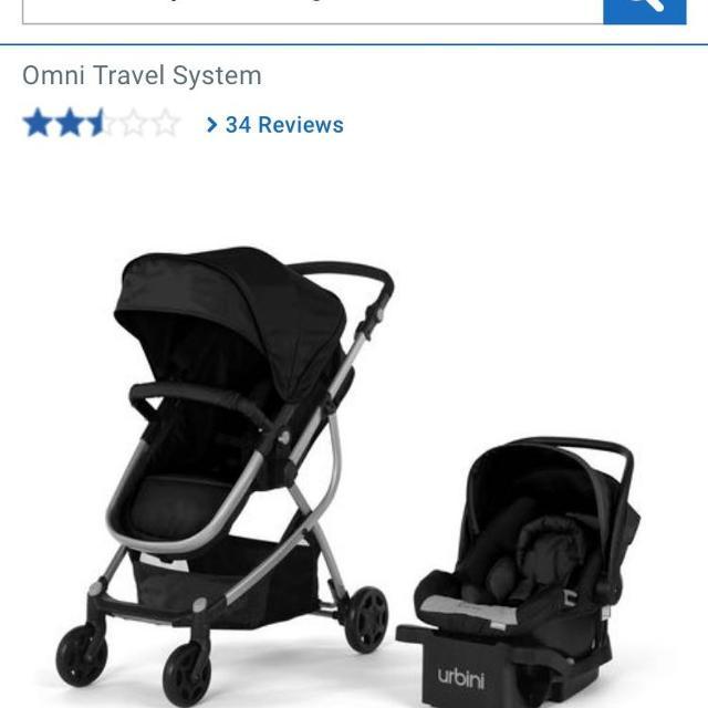 Urbini Omni  In  Travel System Canada