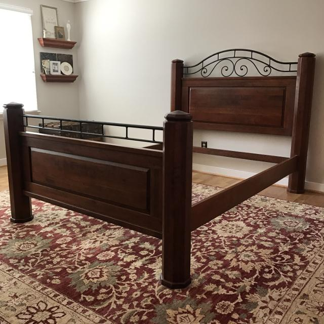 queen size bed frame bob timberlake by lexington furniture - Queen Size Bed Frame For Sale
