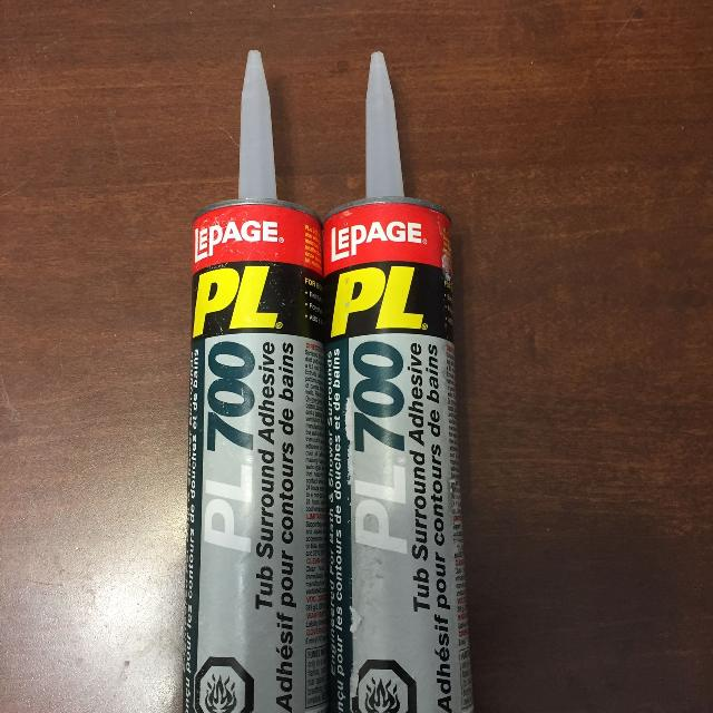 Find more New Lepage Pl700 Tub Surround Adhesive for sale at up to ...