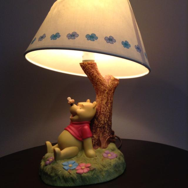 Find more disneys ceramic winnie the pooh lamp for sale at up to 90 disneys ceramic winnie the pooh lamp aloadofball Images