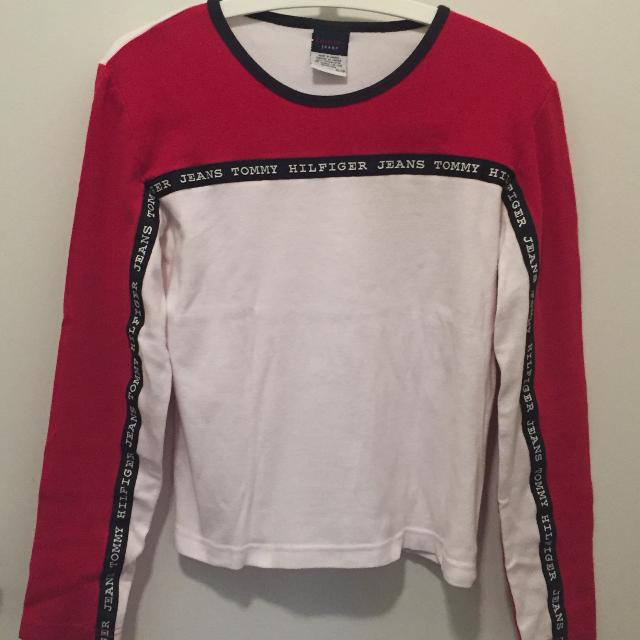 942155c9fa4c09 Find more Tommy Hilfiger - (sz Xl) - Tommy Classic Colours L sleeve ...