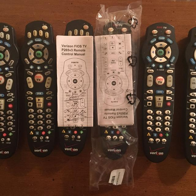 Verizon Fios Replacement Remote Control: TV P2665v3 (4 available)