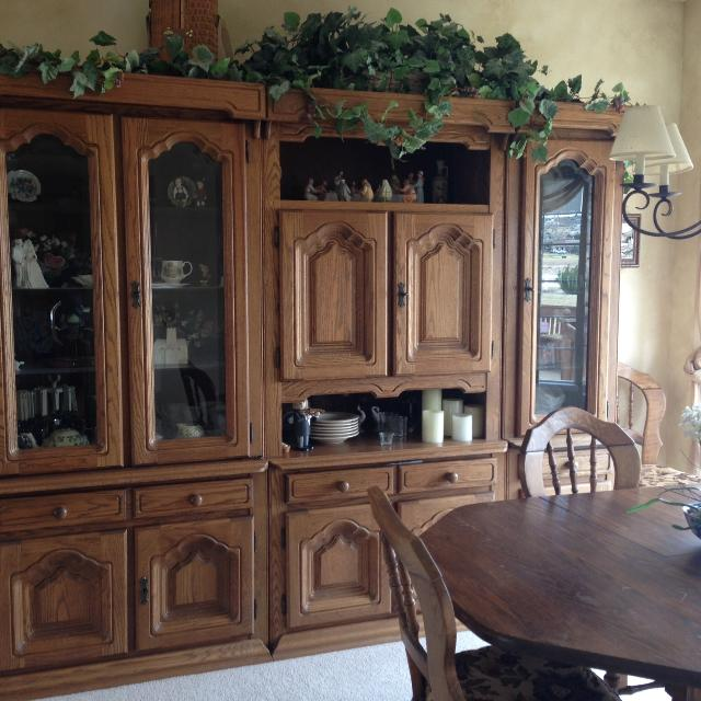 Best Antique German Solid Oak Dining Set And Shrunk! for sale in Colorado  Springs, Colorado for 2019 - Best Antique German Solid Oak Dining Set And Shrunk! For Sale In
