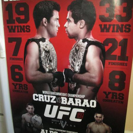 Large UFC Memorabilia Official... for sale  Canada