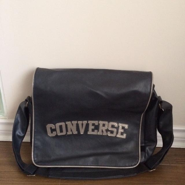 Grey Converse Messenger Bag