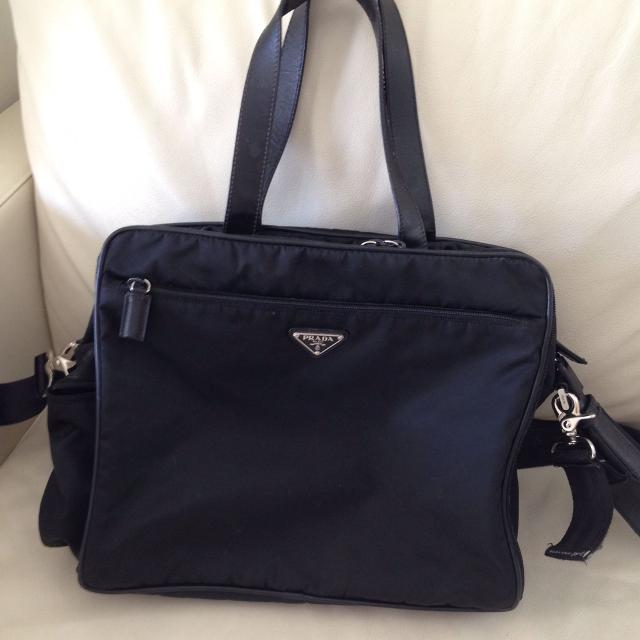 da9a64cbe6f7 Best Prada Diaper Bag, Authentic Tessuto Messenger Style for sale in  Vaughan, Ontario for 2019