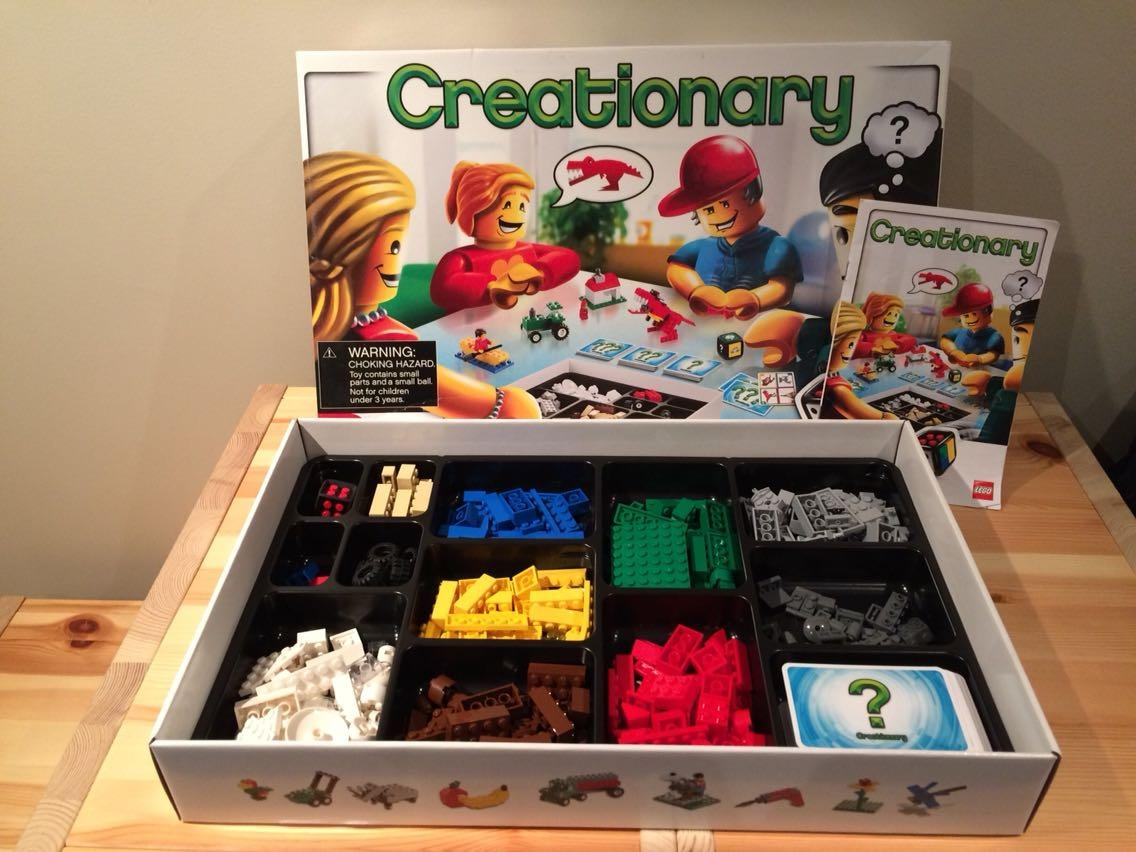 Find More Lego Creationary Game For Sale At Up To 90 Off