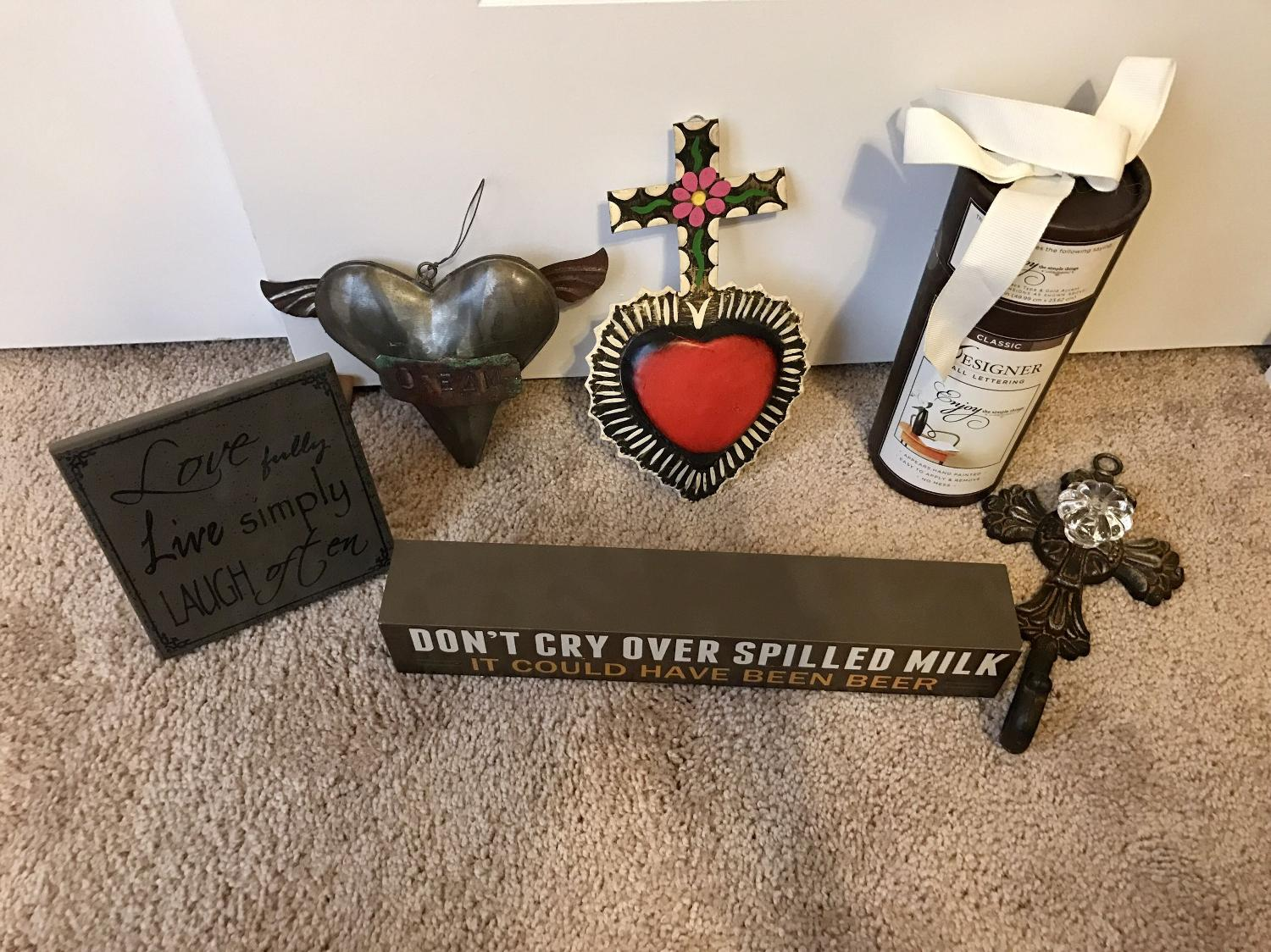 Find more lot of small home decor for sale at up to 90 off for Home decor 90 off