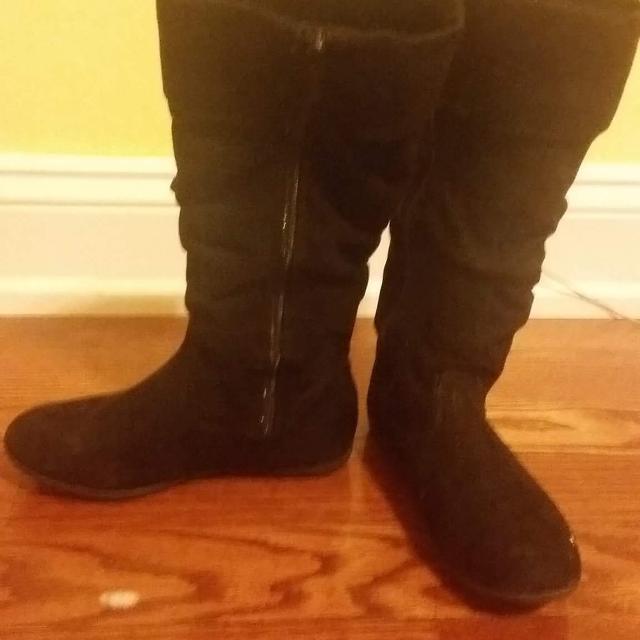 3834ff2ed7fa Best Beautiful Size 3 Girls Black Boots