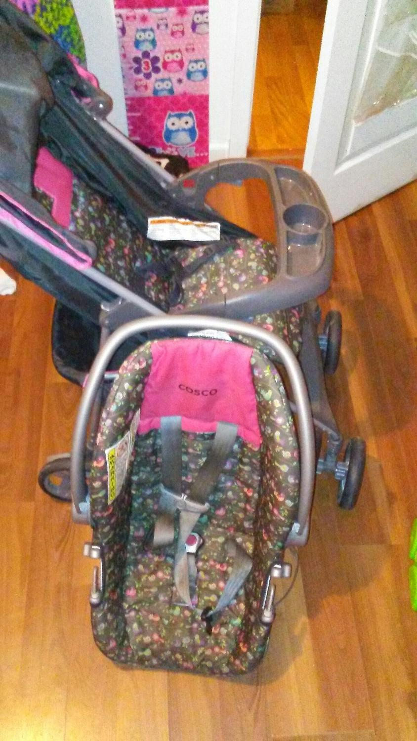 best cosco car seat stroller combo for sale in conroe texas for 2018. Black Bedroom Furniture Sets. Home Design Ideas