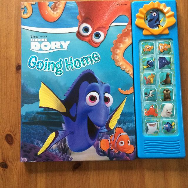 Finding Dory Play A Sound Board Book