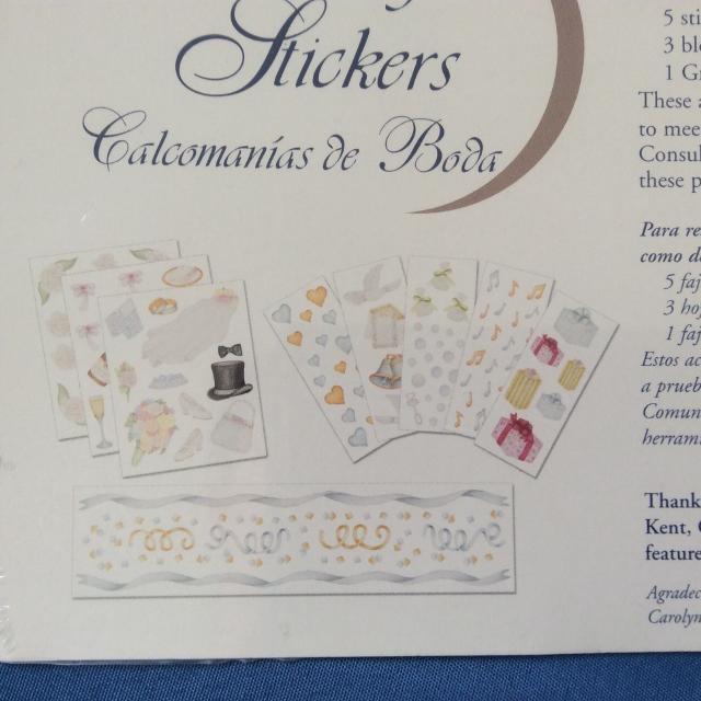 Best Wedding Scrapbook Stickers Brand New For Sale In Mandeville