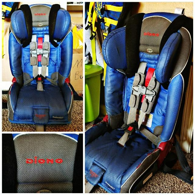 Gently Used Diono Radian RXT All In One Convertible Car Seat