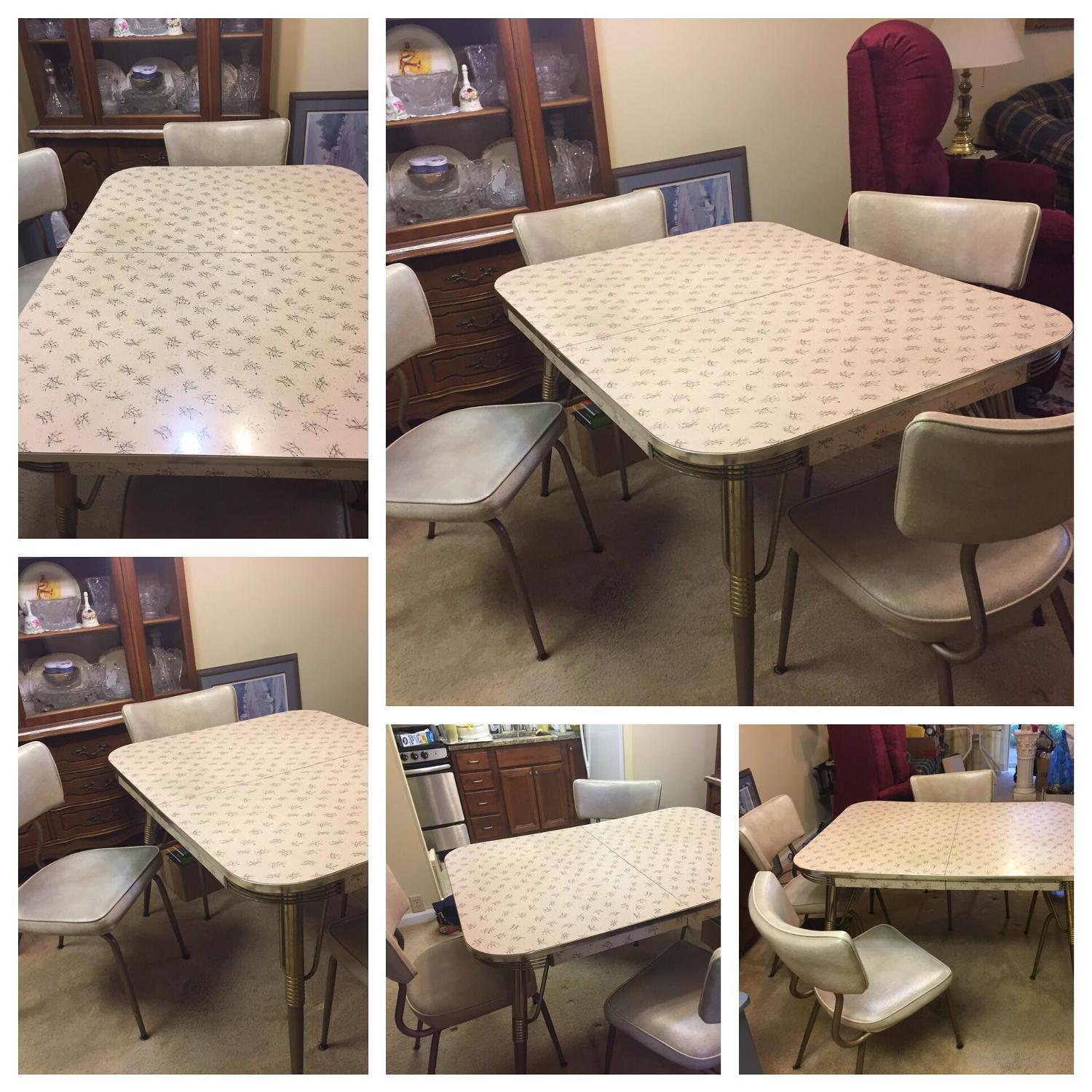 Vintage Kitchen Chairs For Sale: Find More Vintage Retro Formica Kitchen Table + 2 Leaves