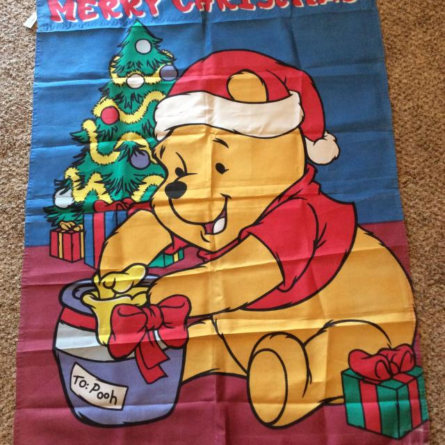 find more large size 39 x 28 merry christmas winnie the pooh