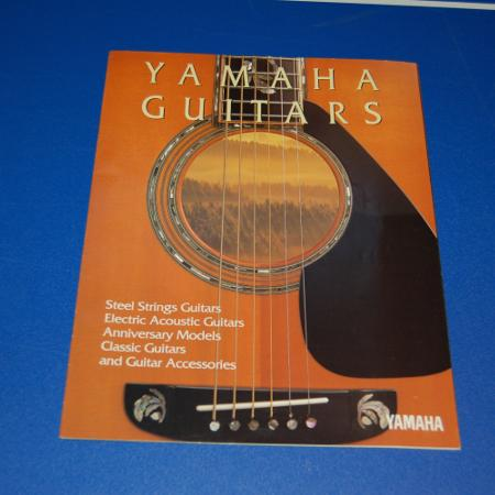 Yamaha Guitars Brochure for sale  Canada