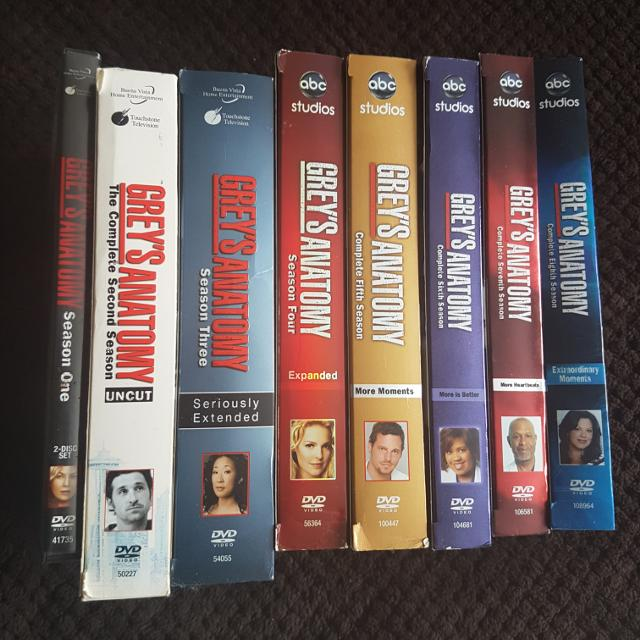 Find More Greys Anatomy Season 1 8 Dvds For Sale At Up To 90 Off