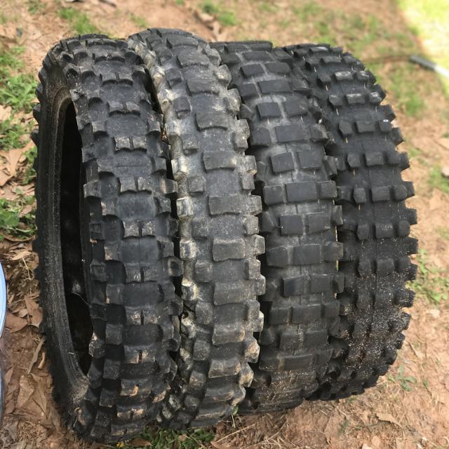 Dirt bike tires