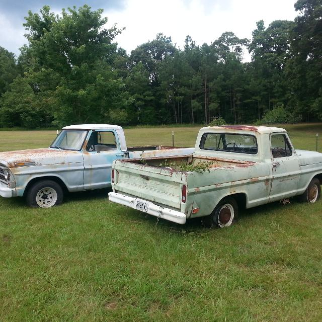 Old Trucks For Sale Cheap >> 2 Old Ford Trucks