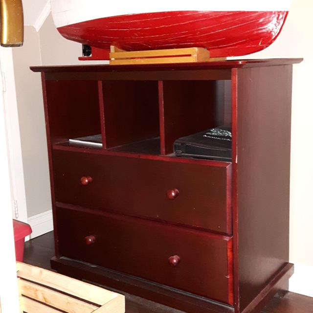 Excellent Dresser With Cubby Holes