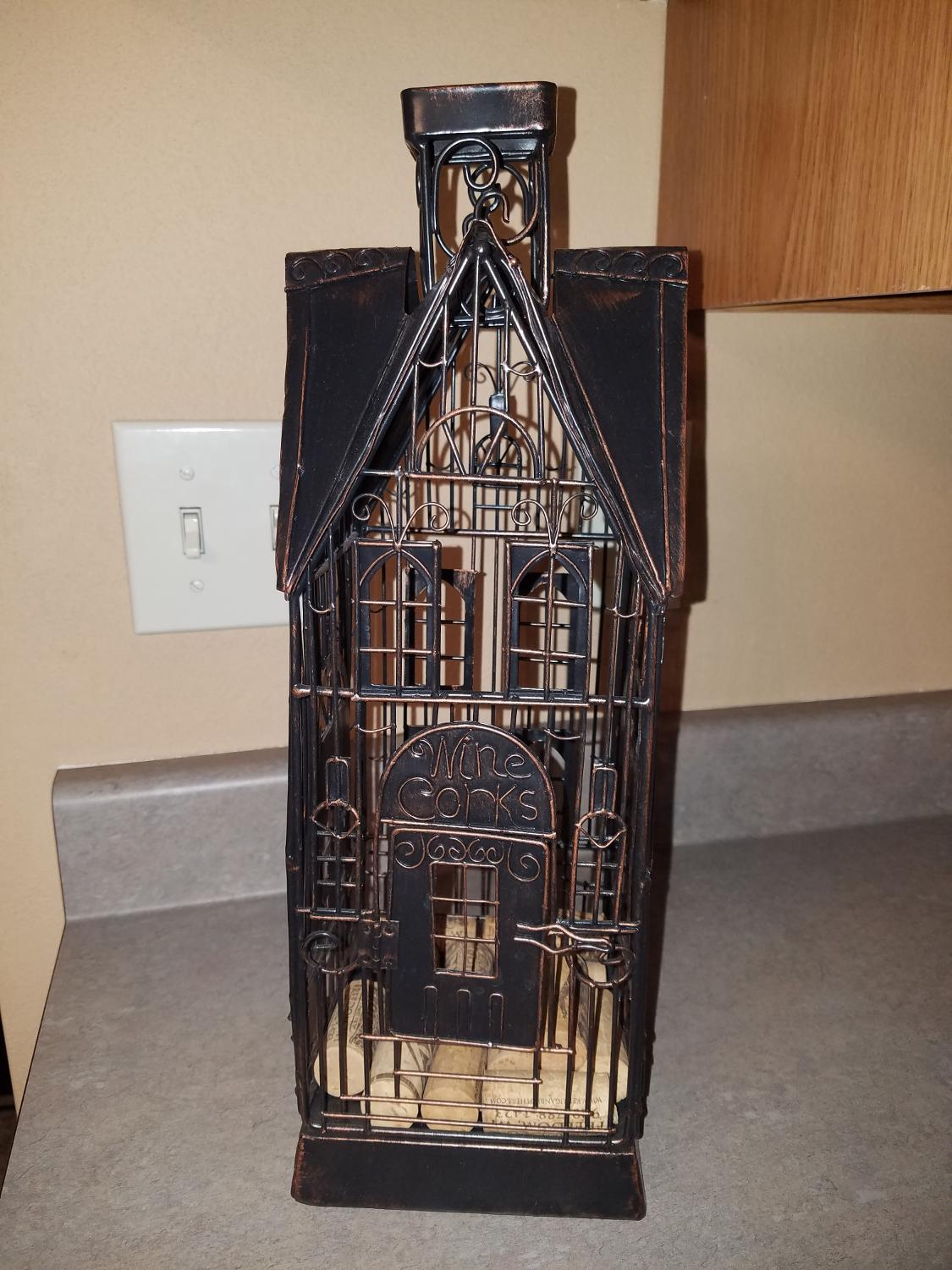 Find more metal wine cork bird house for sale at up to 90 off Wine cork birdhouse instructions