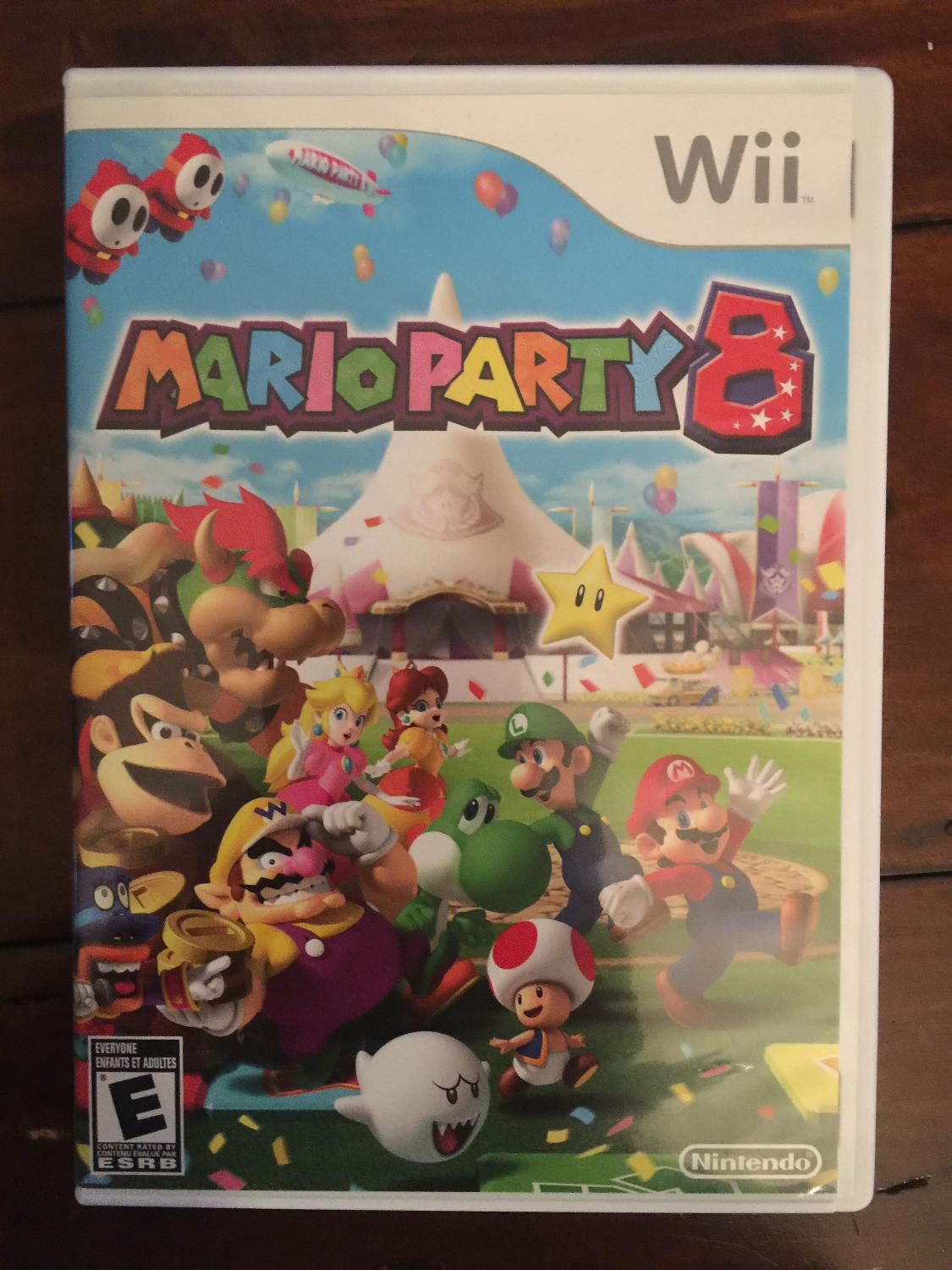 find more mario party 8 wii game like new condition for sale at up to 90 off regina sk. Black Bedroom Furniture Sets. Home Design Ideas