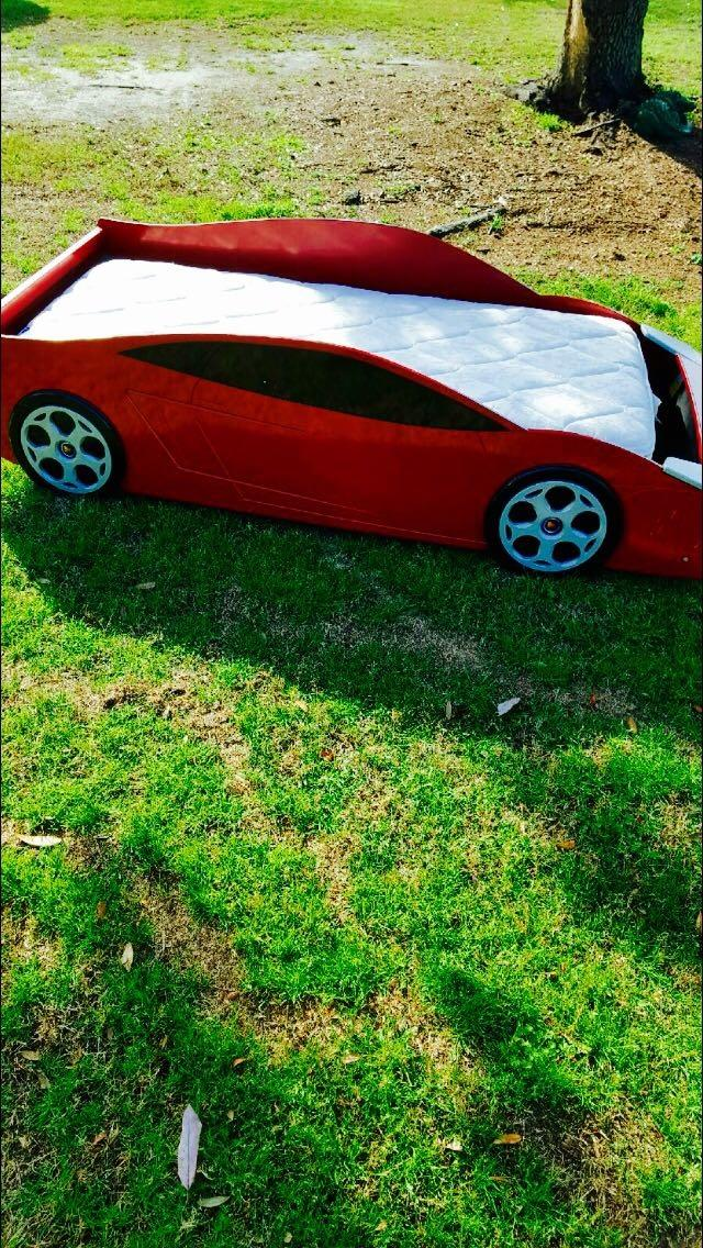 Best Red Ferrari Car Bed For Sale In Pensacola Florida