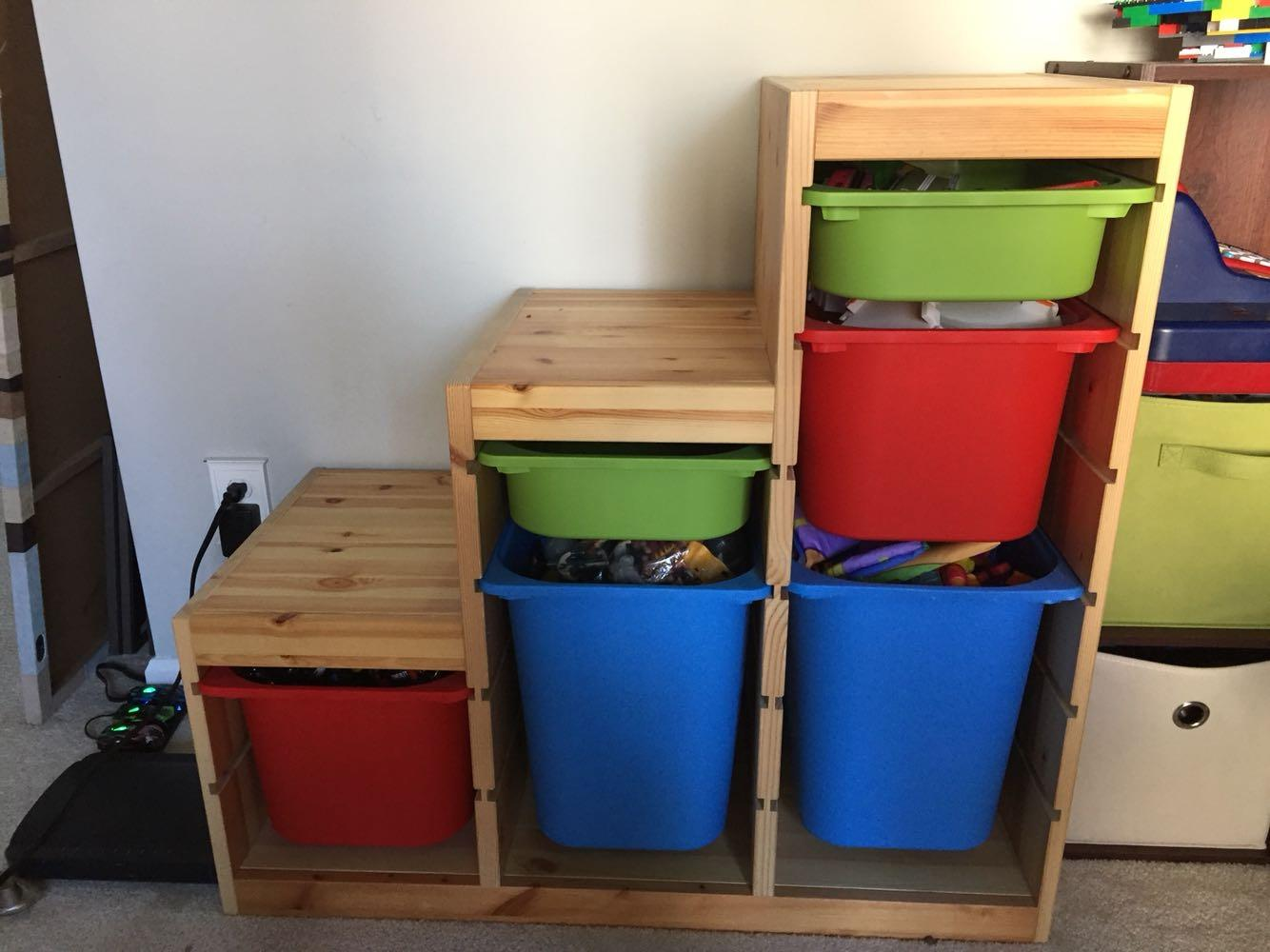 Find more ikea shelf with bins for sale at up to 90 off for Ikea outlet charlotte nc