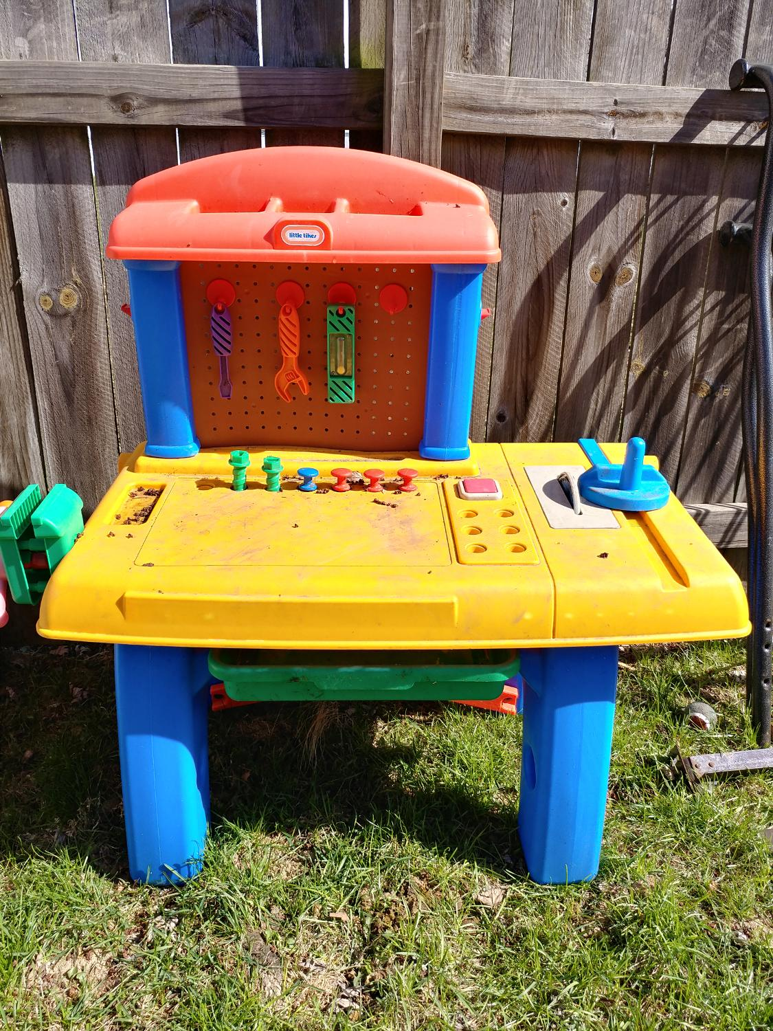 Find More Little Tikes Work Bench For Sale At Up To 90 Off Peoria Il