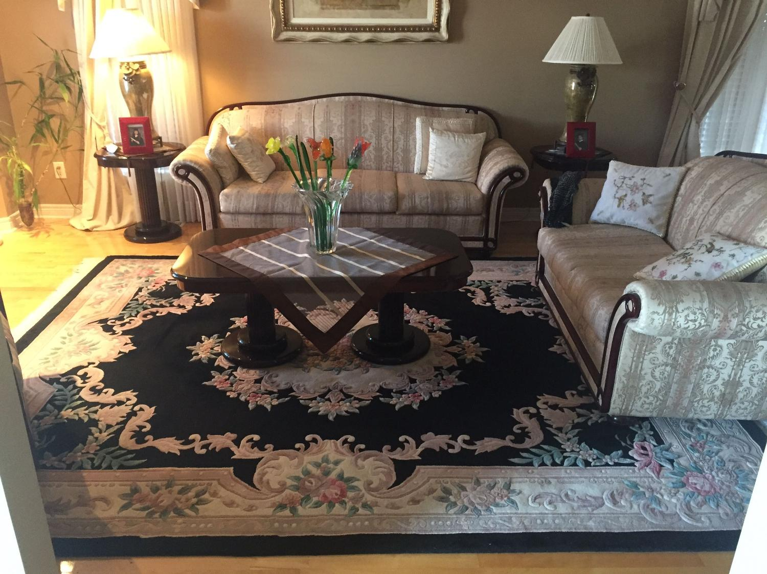 find more carpet rug 124 by 97 inches 10 5 feet by 8 feet for sale at up to 90 off. Black Bedroom Furniture Sets. Home Design Ideas