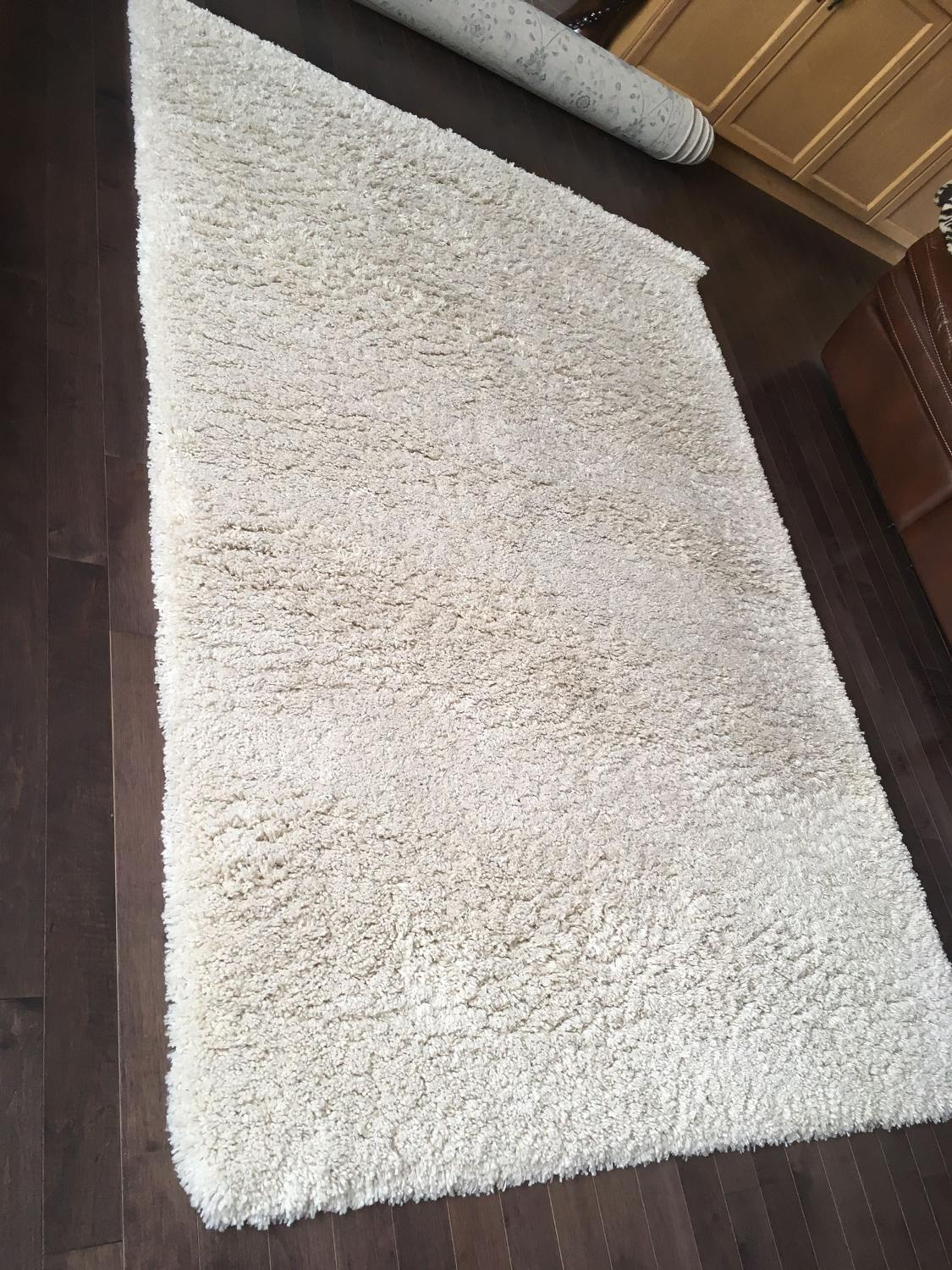 Best White Costco Shag Rug Used For 5 Months Very