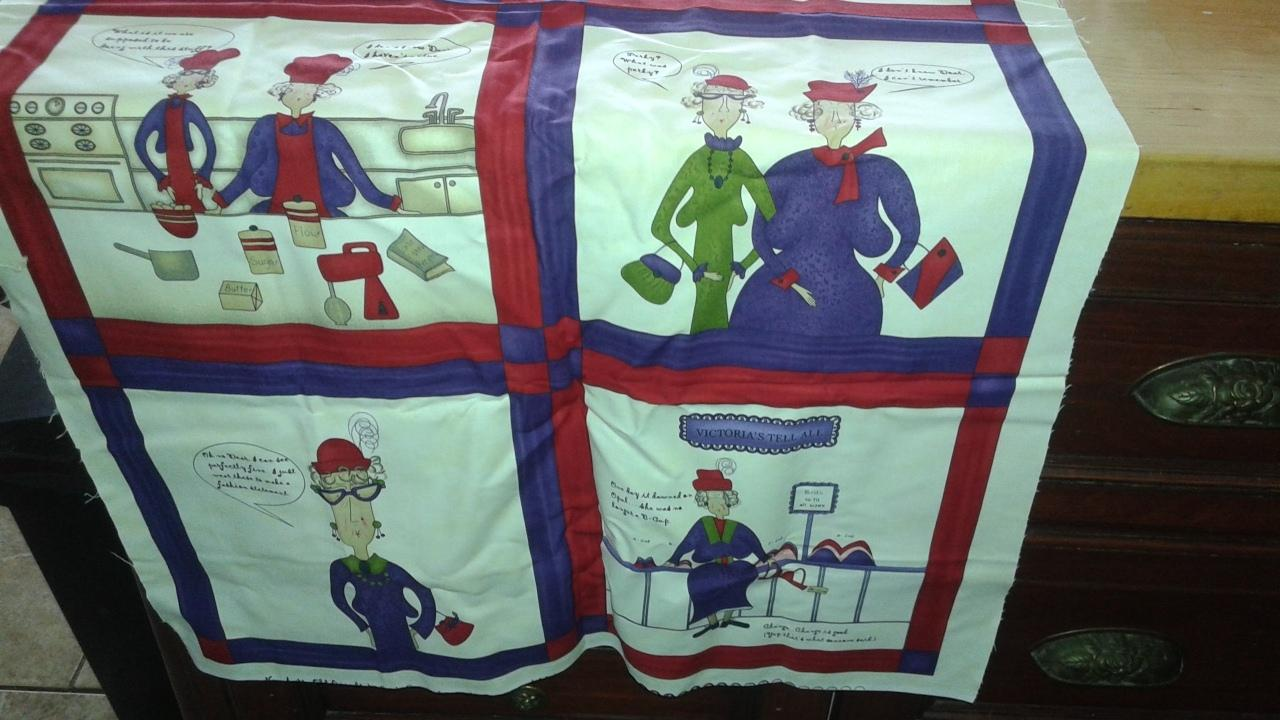 Fabric Panels To Cover Storage Area : Best red hat society fabric panel for sale in vaudreuil