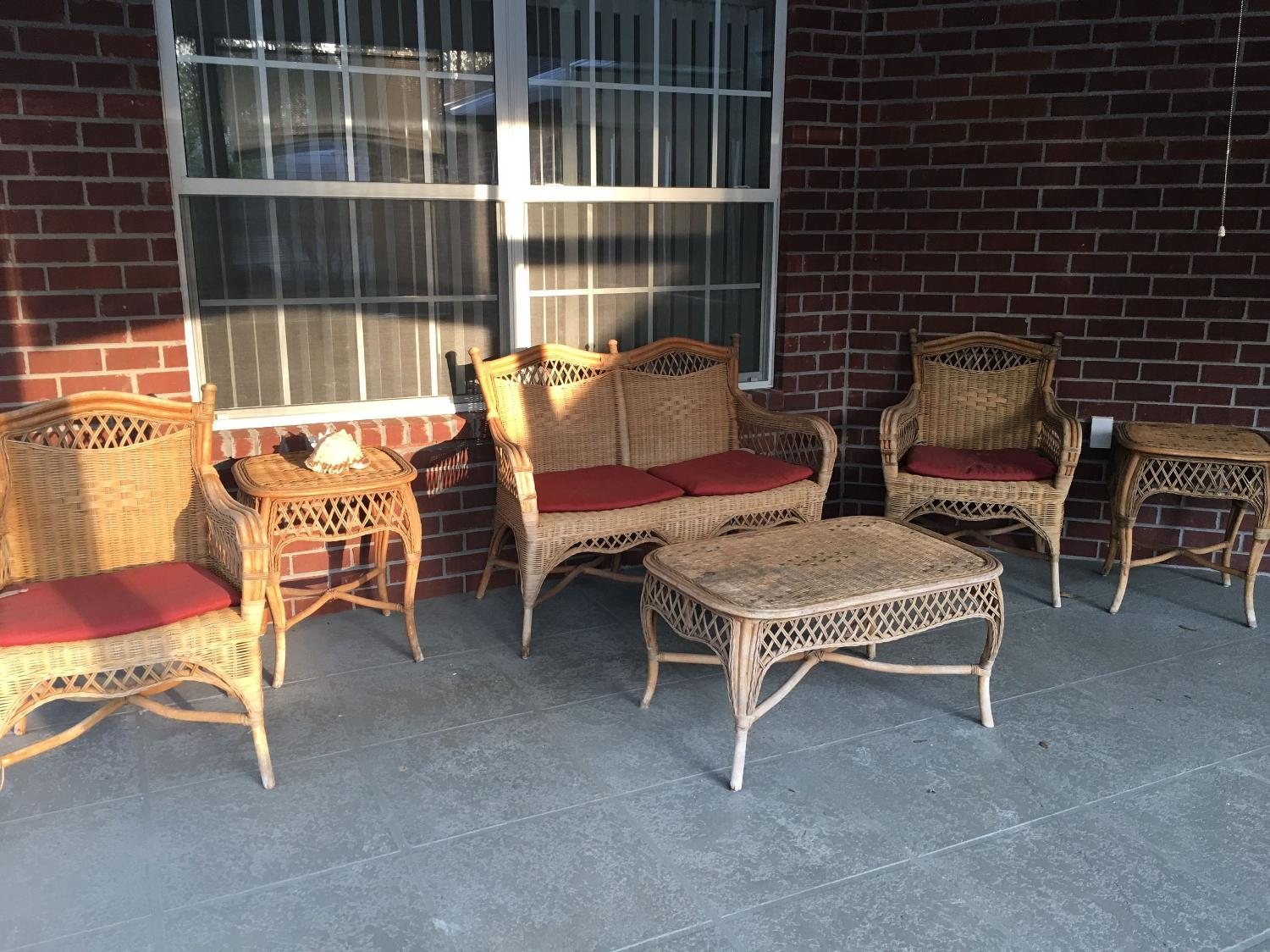 Best Wicker Furniture Set For Sale In Pensacola Florida For 2018