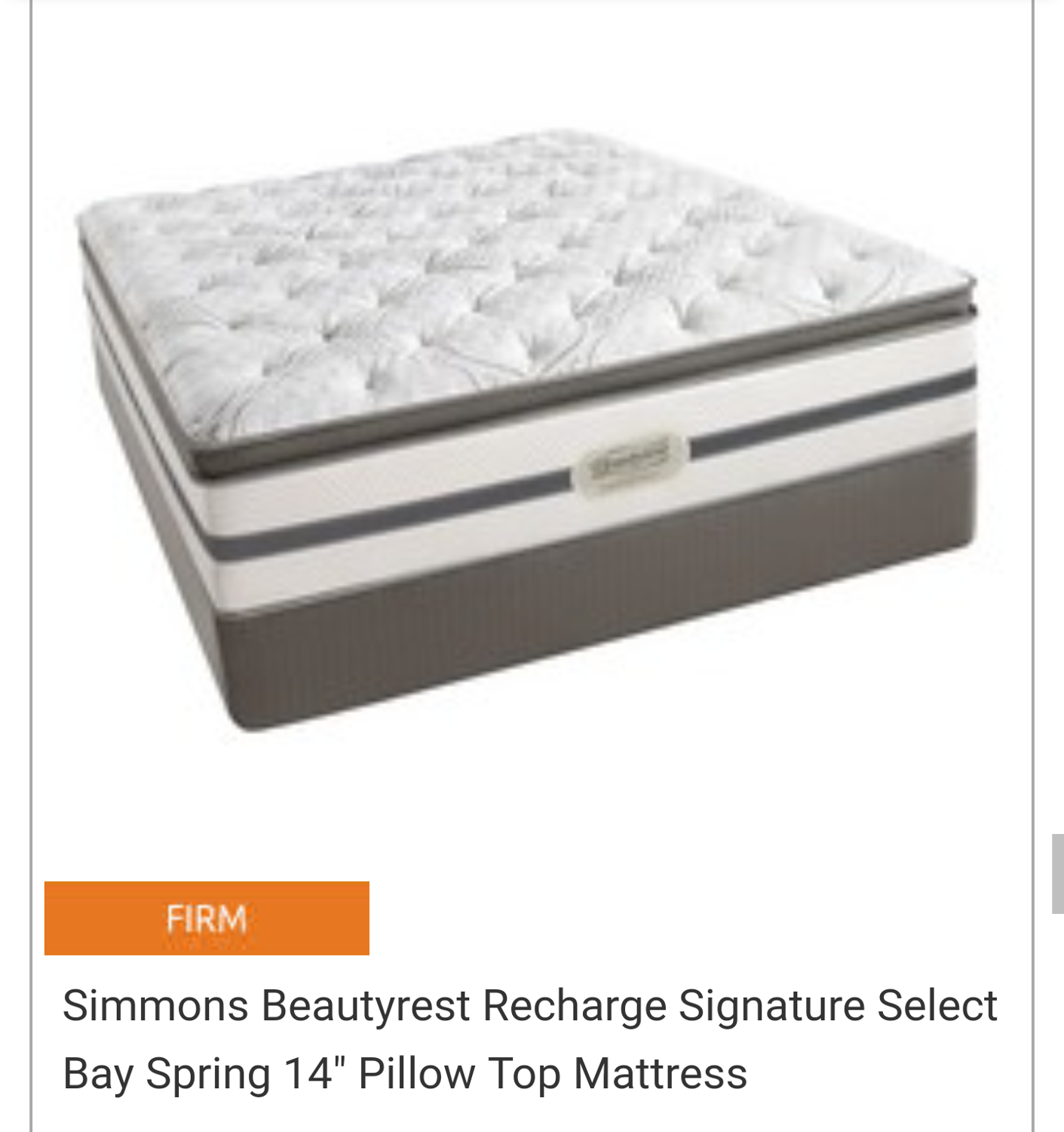 Best Beautyrest Recharge Queen Mattress For Sale In Castro