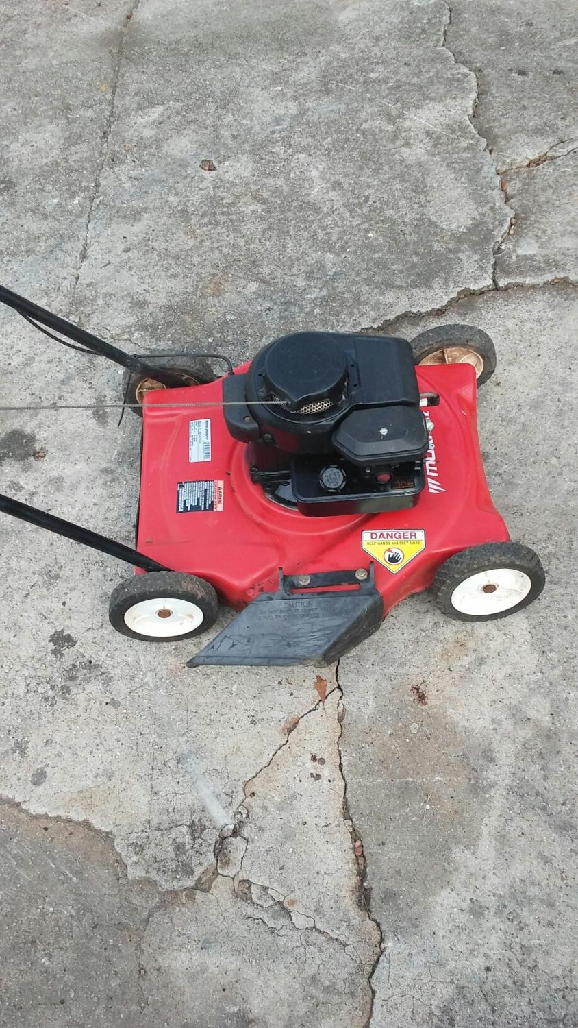 Murray 21 Lawn Mower : Find more inch murray push mower for sale at up to