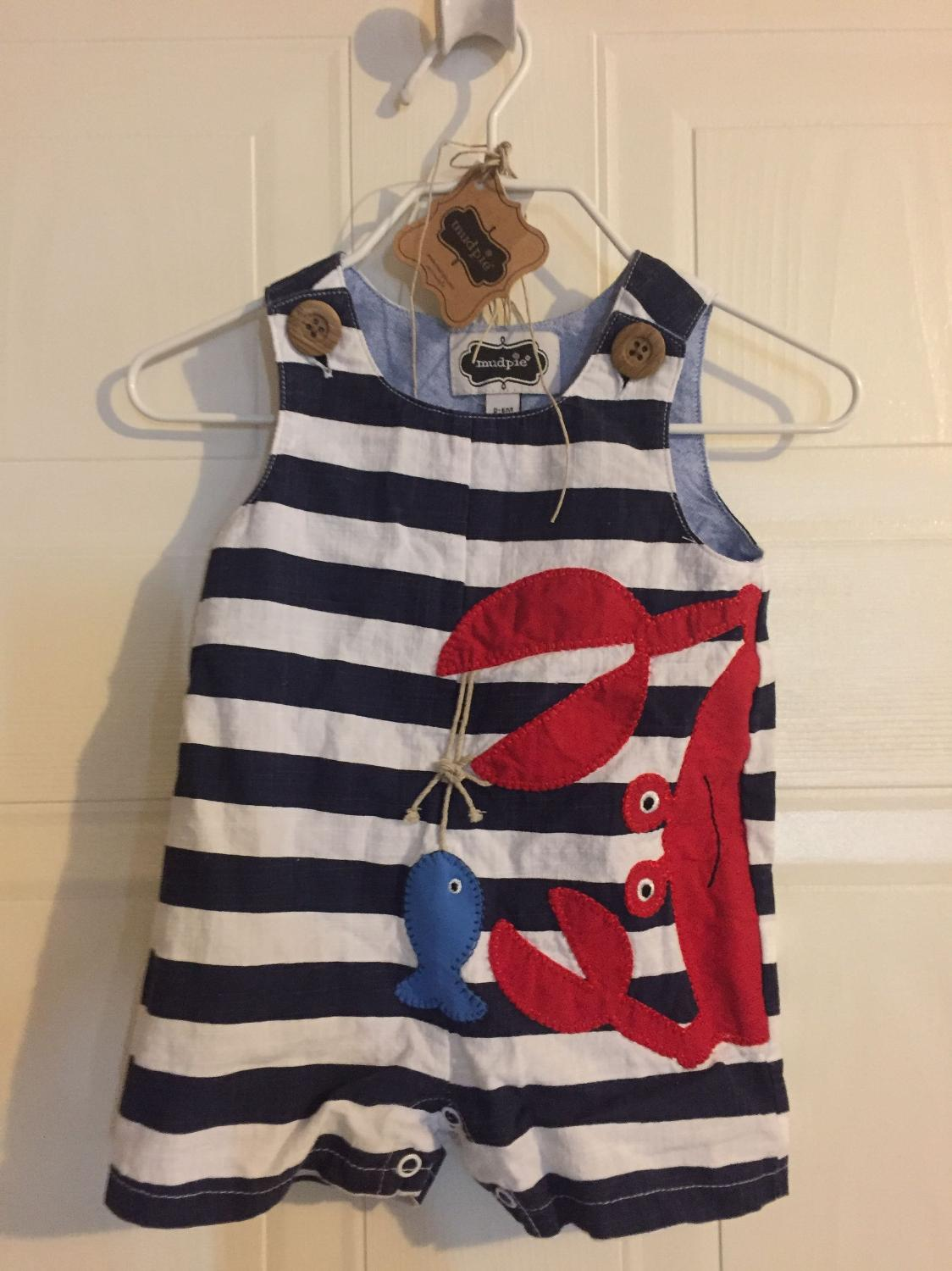 Best Mudpie 0-6mo Shortall Euc for sale in Mobile, Alabama for 2017