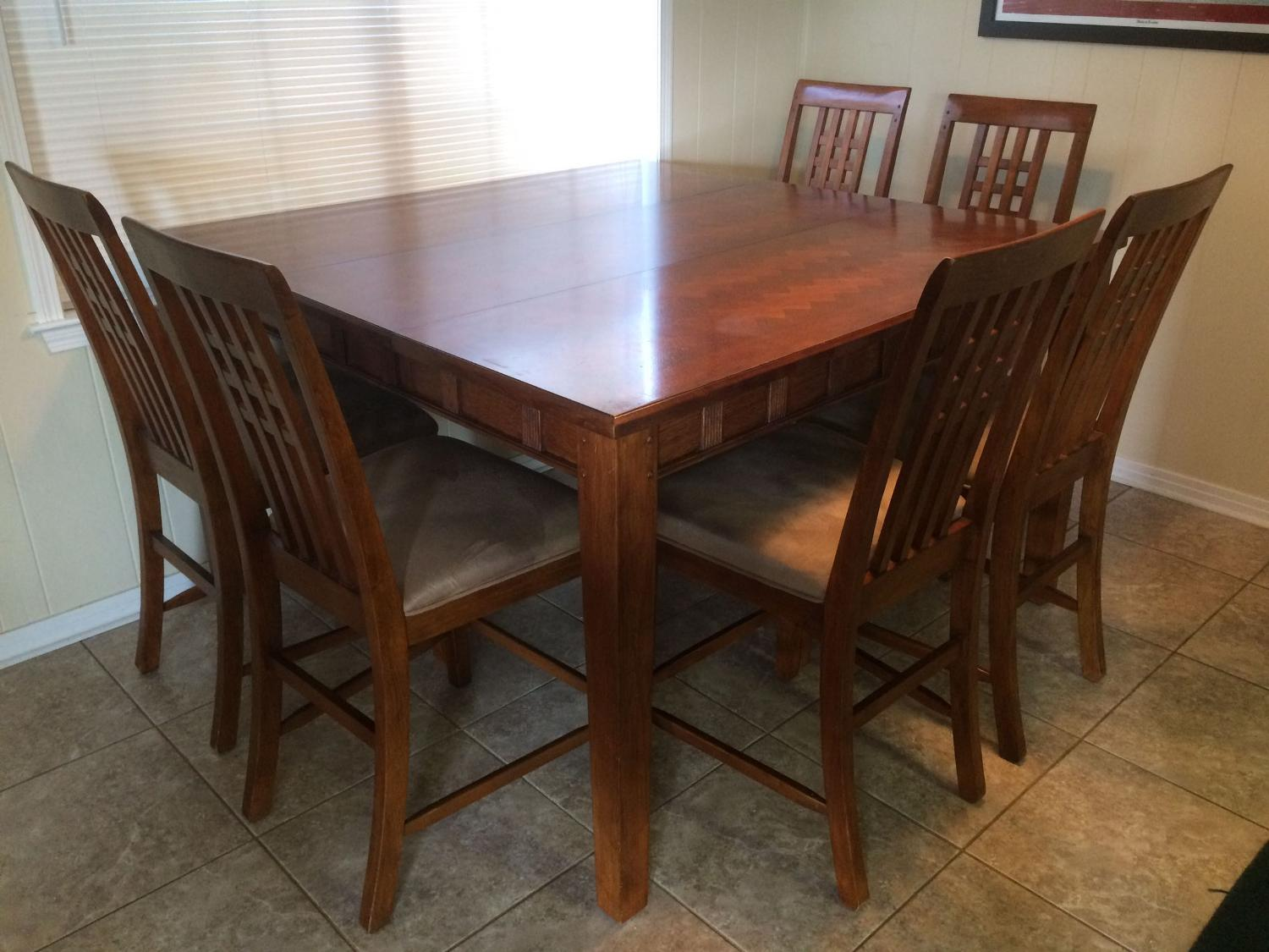 Find more wooden counter height dining table and chairs